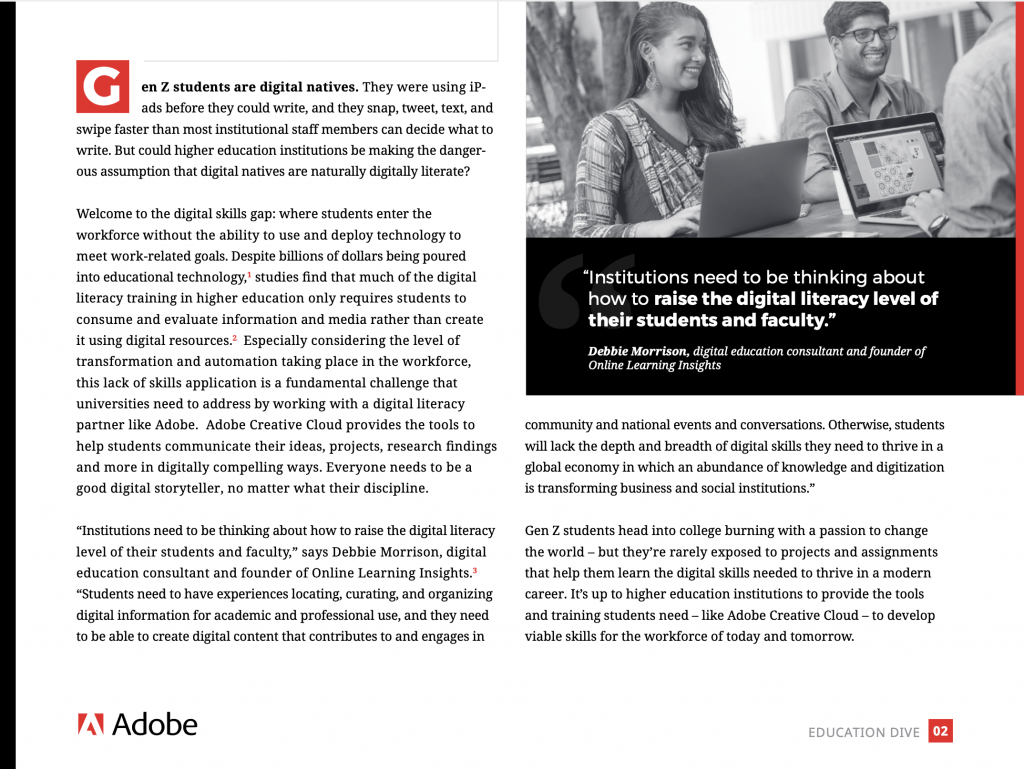 Adobe - B2B Writer - Sarah Greesonbach